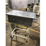 "Hilliard 18"" x 28"" Vibrating Table. 110 volts. Serial#970527"
