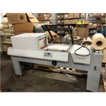"X-Rite model 710 L-Bar Sealer with Shrink Tunnel. 14"" x 18"" L-bar area and 14"" wide x 8"" tall and"