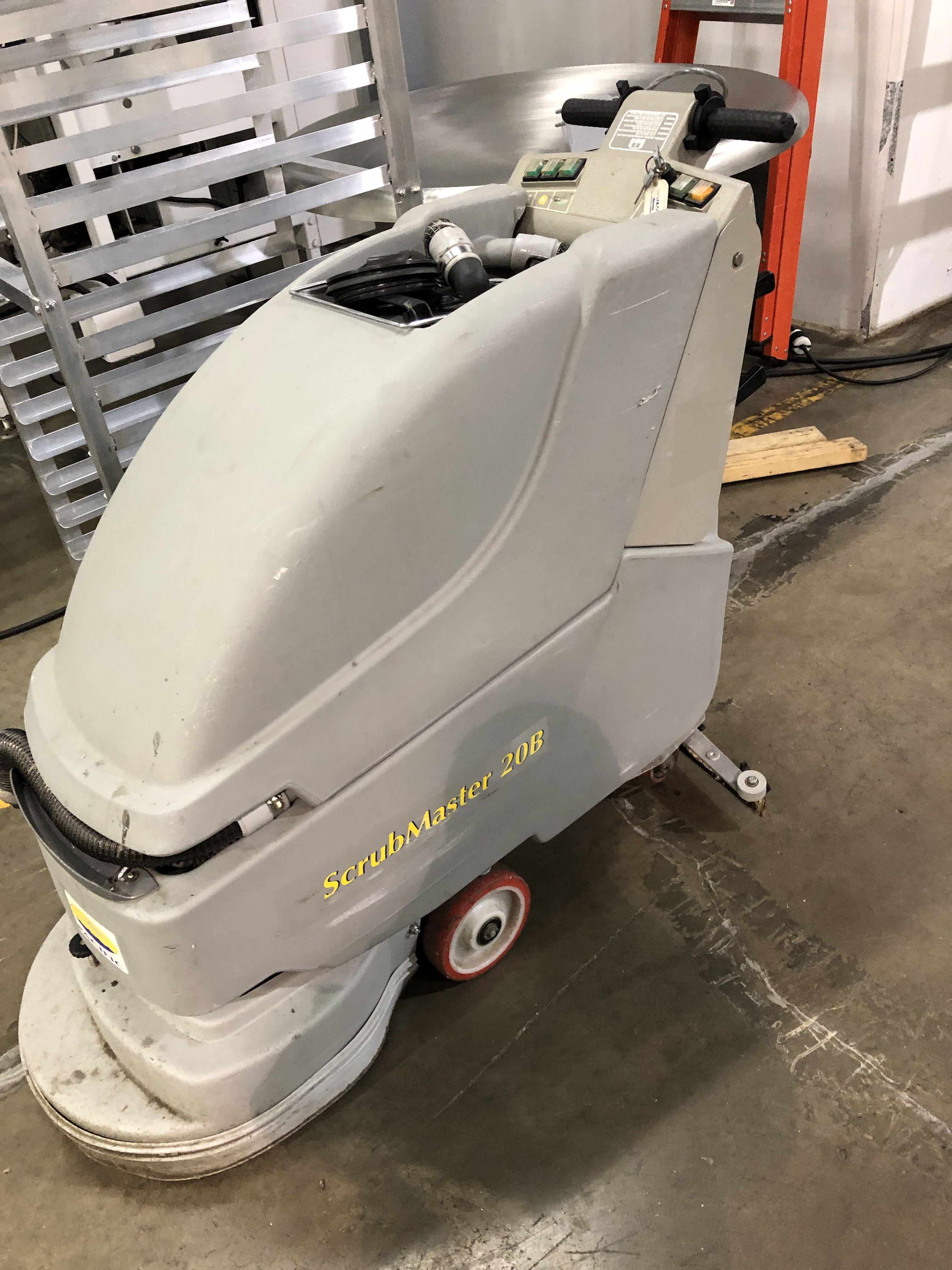 Lot 56 - Pacifici Scrubmaster 20B Floor Scrubber