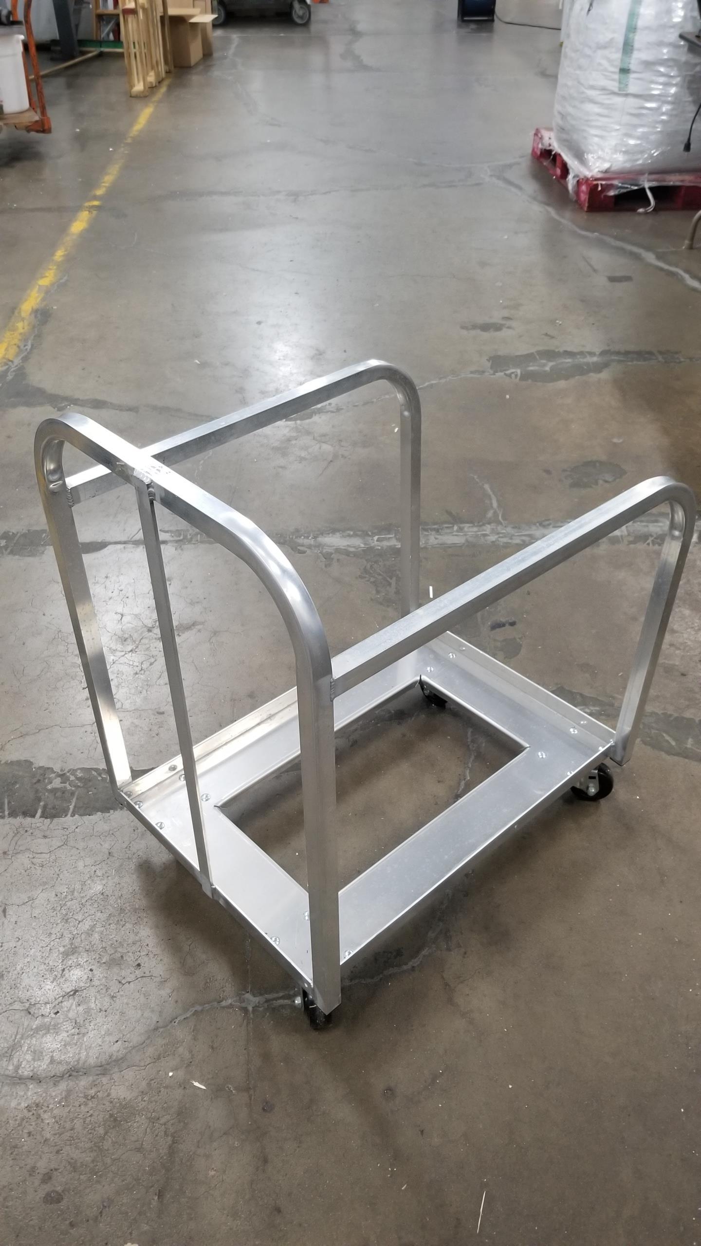 Lot 91 - sheet pan cart