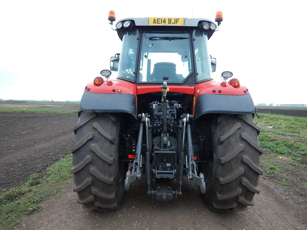 Tractor Front Suspension : Massey ferguson dyna kph wd tractor with