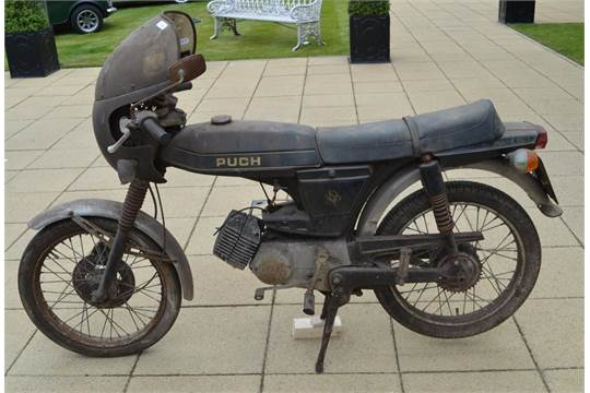 Puch Grand Prix Special 1976 Registration Number: PNL 605R