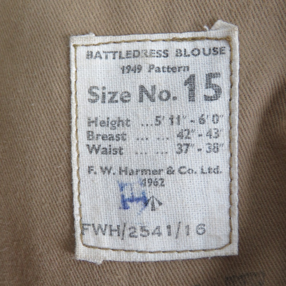 A WWII Royal Marine Sergeants overcoat a - Image 2 of 2