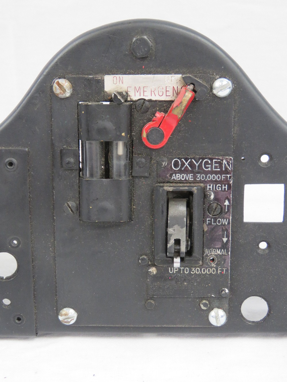 A Royal Air Force cockpit oxygen control - Image 3 of 3