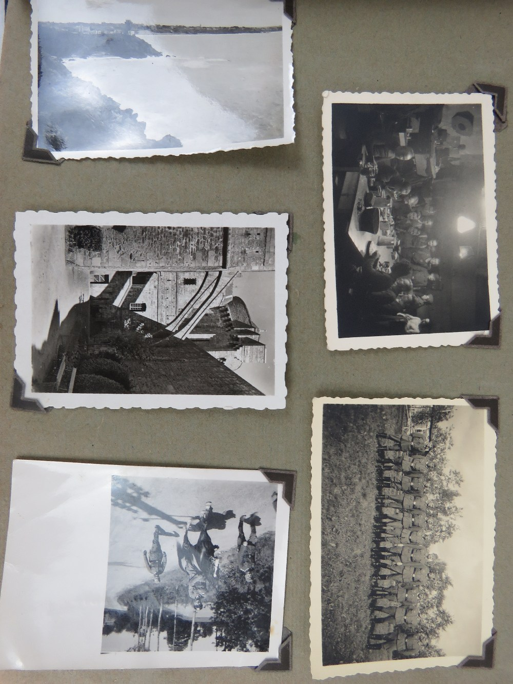 A large quantity of WWII German photos a - Image 2 of 4