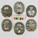 Six reproduction Bundeswehr regimental c