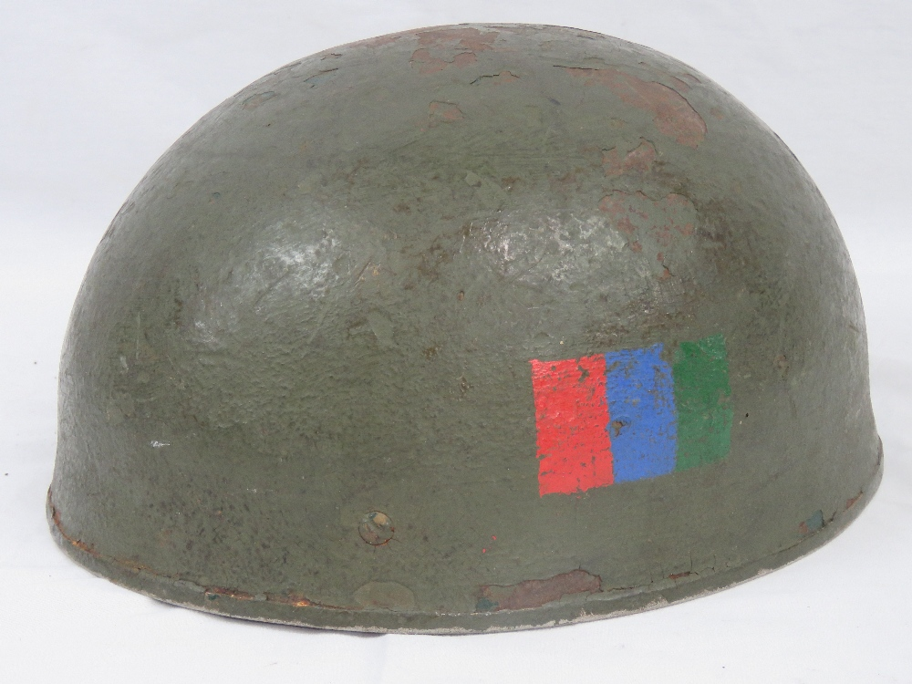 A British Paratrooper helmet with Regime