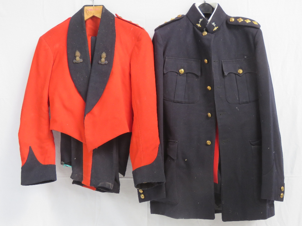 Two British Military Dress uniforms for