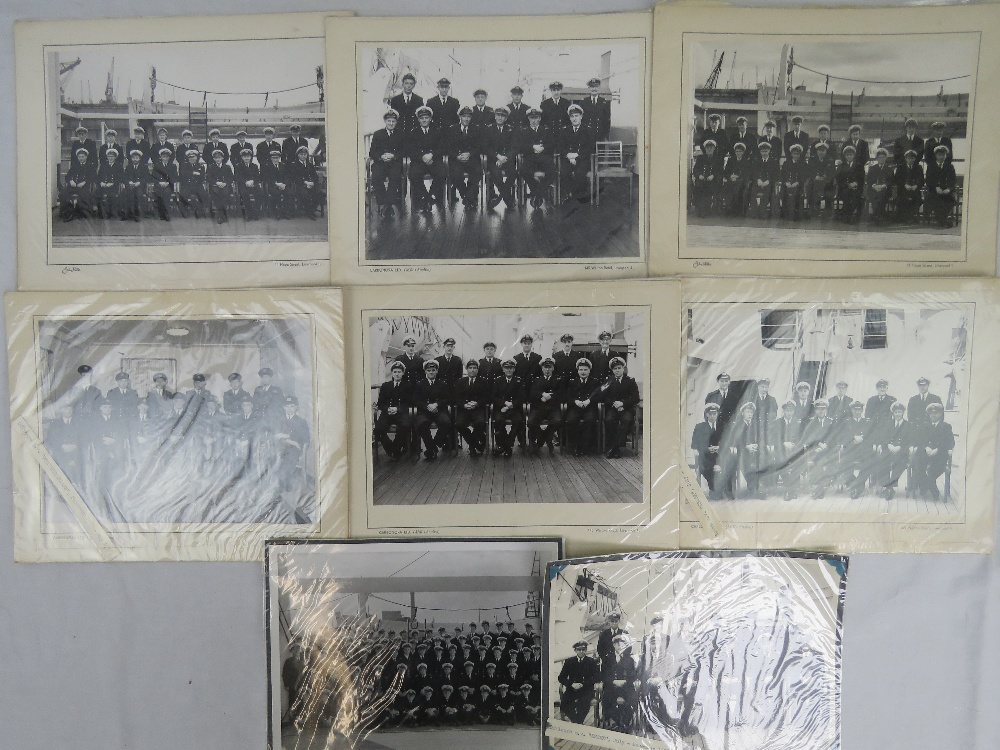 A quantity of Royal Navy Officers photog