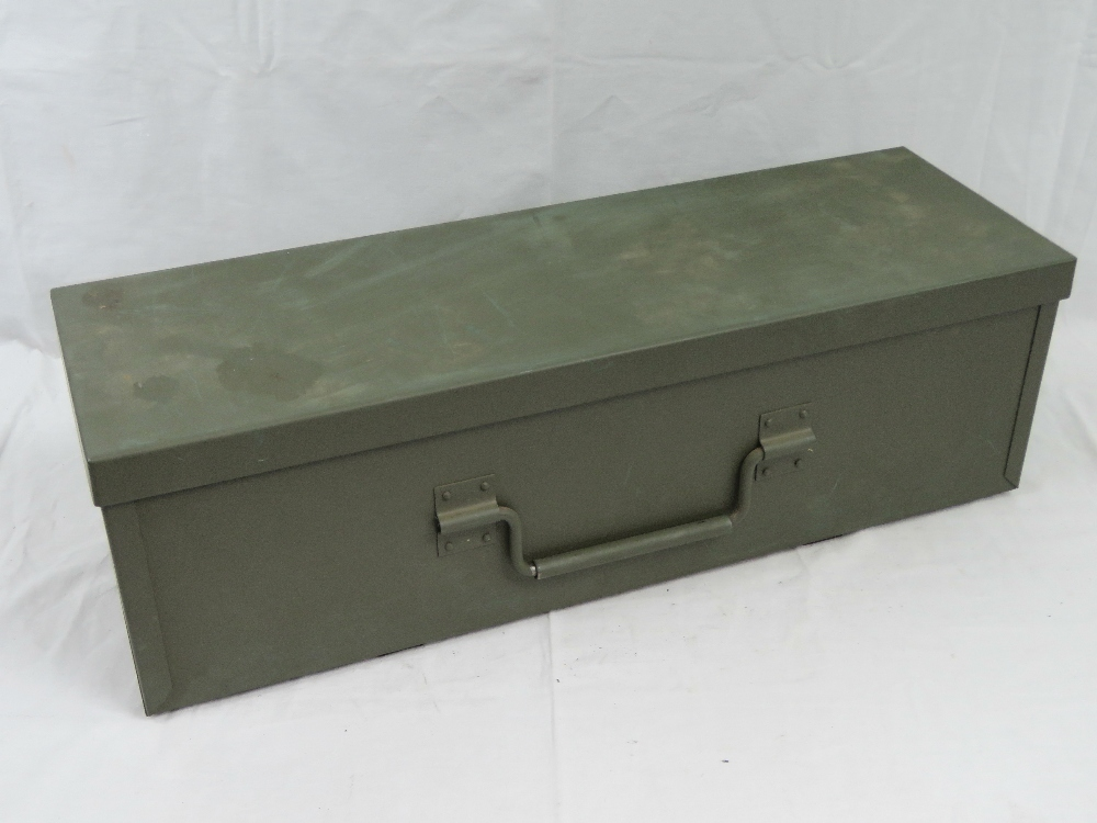 Two large ammunition crates; a British M - Image 2 of 5