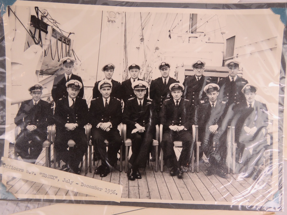 A quantity of Royal Navy Officers photog - Image 2 of 2