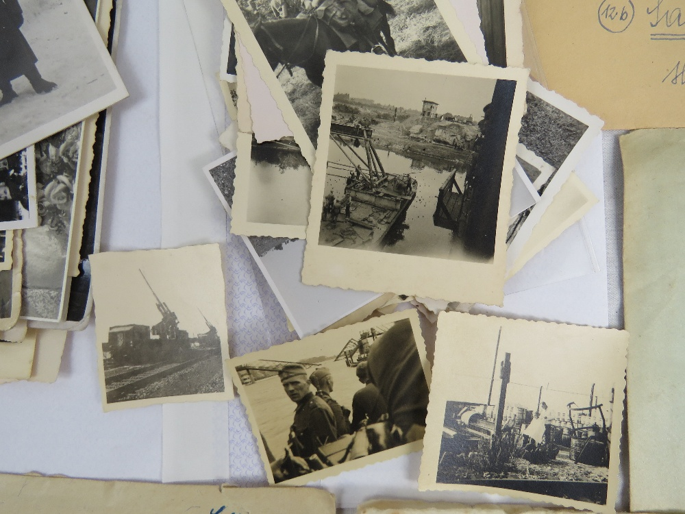 A large quantity of WWII German photos a - Image 3 of 4