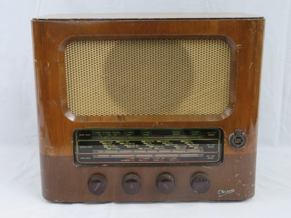 A Royal Engineers Officers Mess radio by