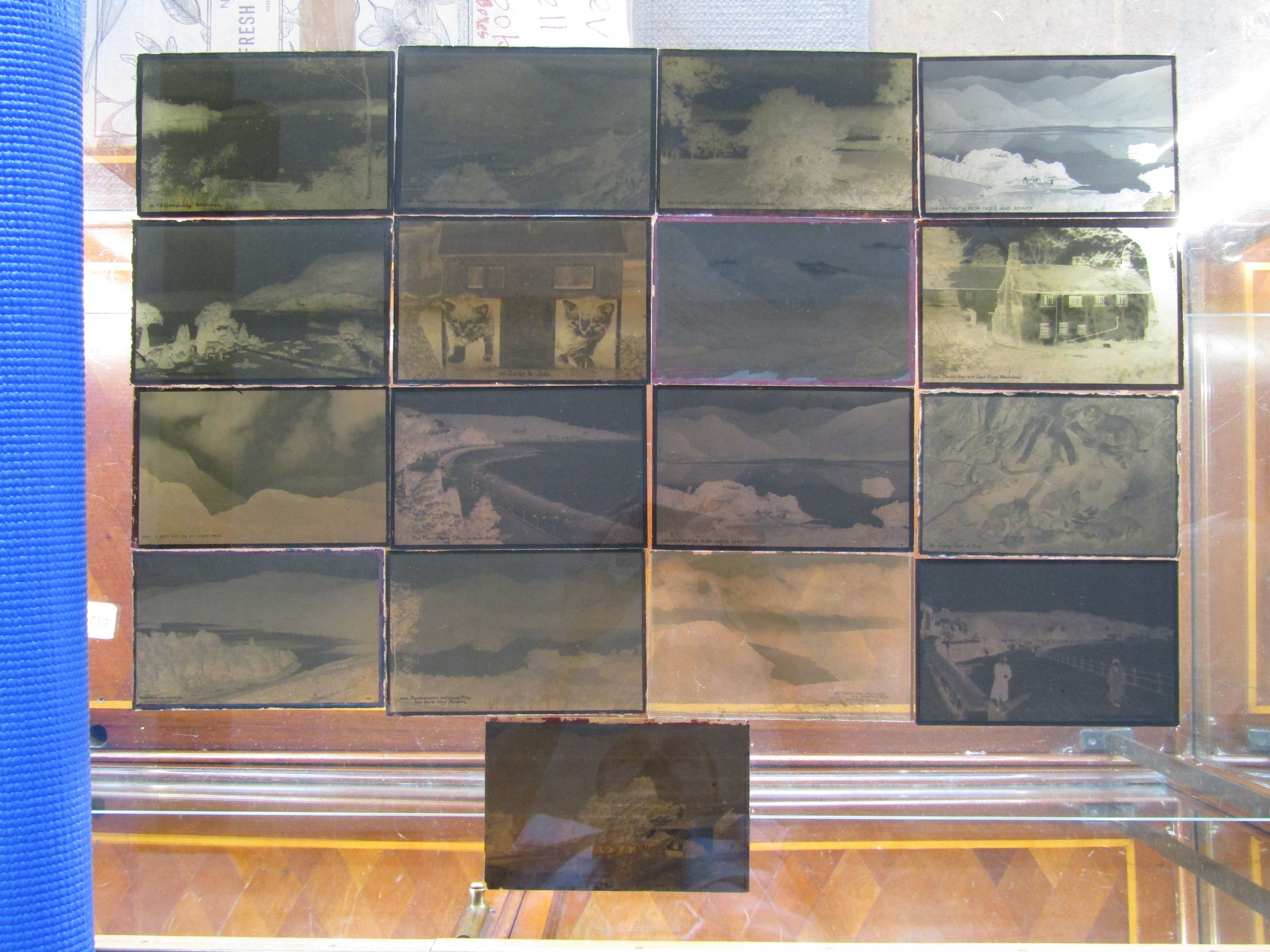 Lot 29 - A quantity of original Lake District glass plate photograph negatives by the Abraham brothers of
