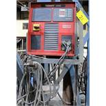 NELSON NELWELD 4000 STUD WELDER, S/N 10012110 W/ STAND & CABLES/GUN