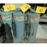 LOT OF (3) GULLCO ELECTRODE STABILIZING OVENS (MODELS 10B & 20)