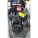 MILLER/RED-D-ARC EXTREME 360 CC/CV INVERTER WELDER, S/N LJ100337A W/ LINCOLN ELECTRIC LN-9 GMA