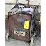 LINCOLN ELECTRIC IDEALARC 250 MIG WELDER W/ CABLES & CART