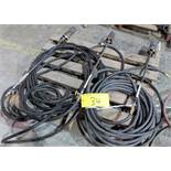 LOT OF (3) TIGER TORCHES W/ CABLES