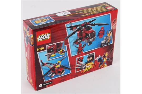 Lego An Original Lego Set 6866 Wolverine39s Chopper Showdown Set