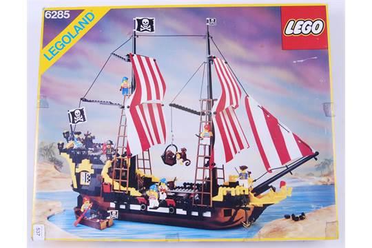 Lego An Original Rare Lego Vintage Pirates Set 6285 39 Black
