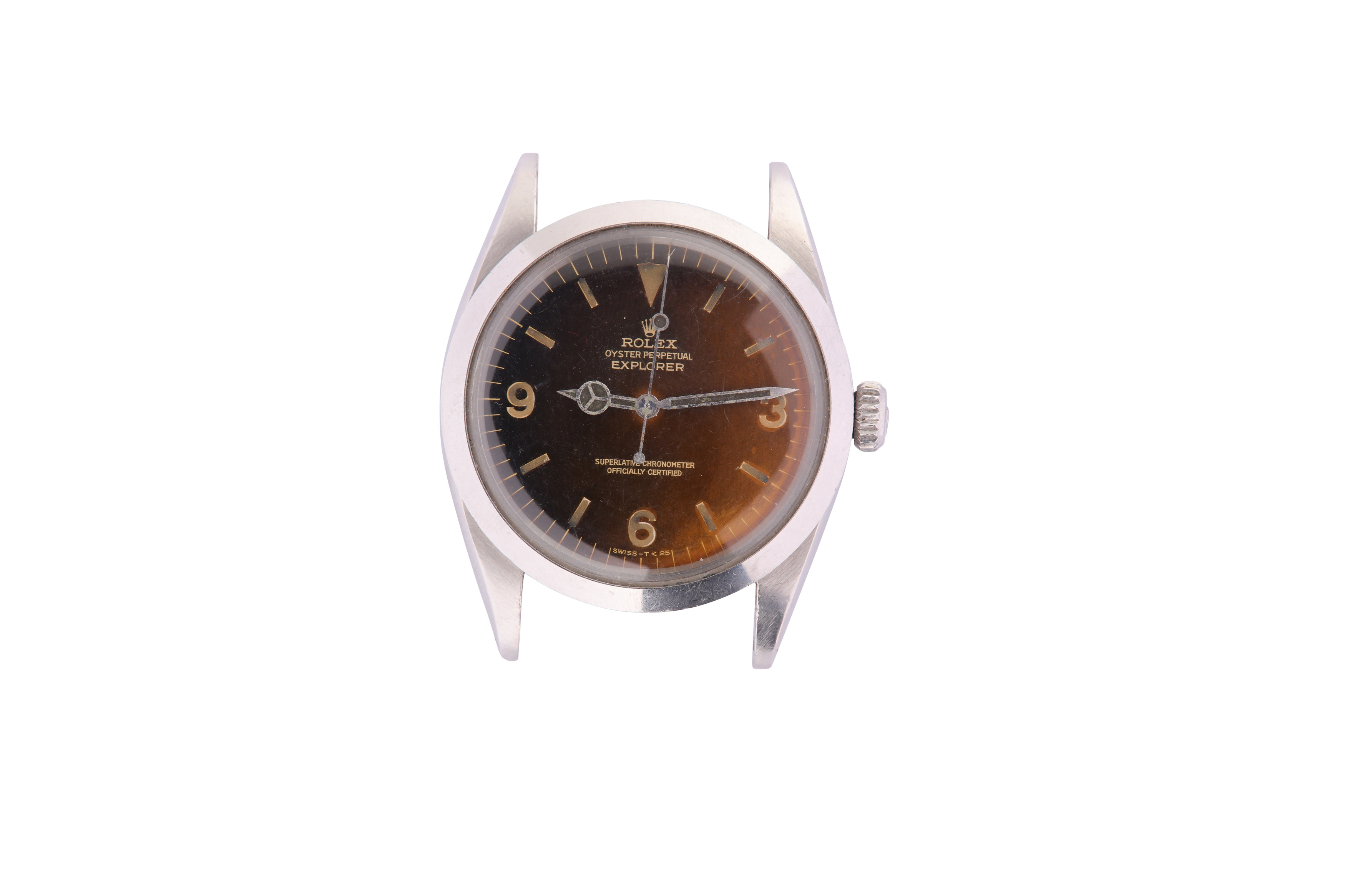 A RARE AND ATTRACTIVE MEN'S ROLEX STAINLESS STEEL AUTOMATIC WRISTWATCH - Image 7 of 9