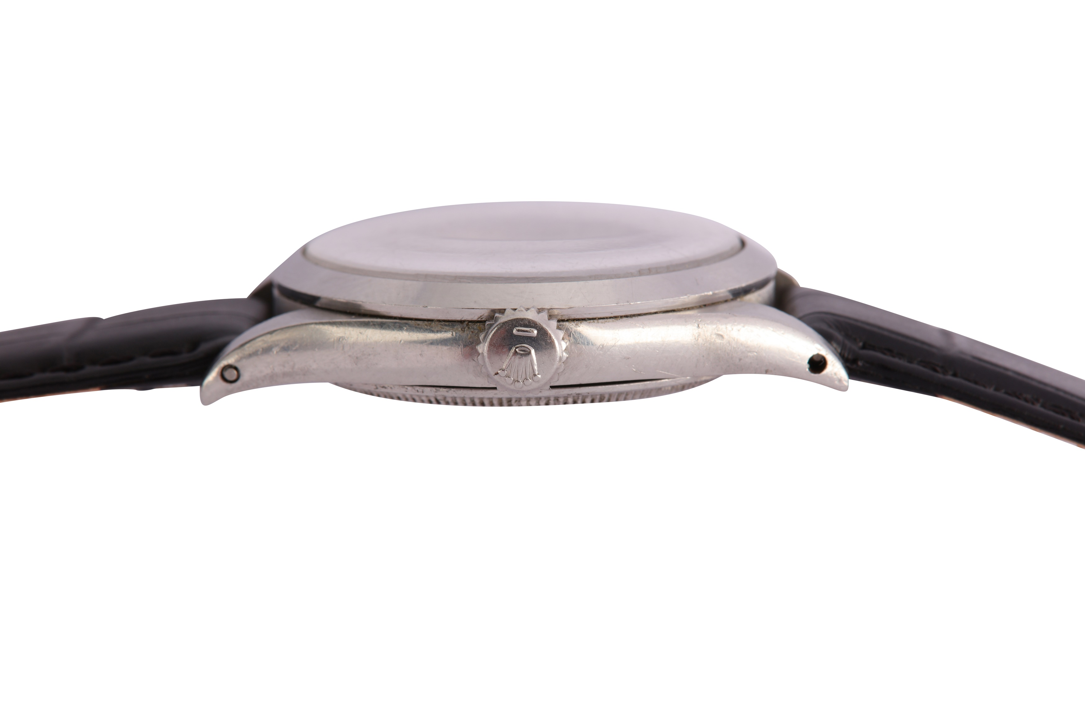 A RARE AND ATTRACTIVE MEN'S ROLEX STAINLESS STEEL AUTOMATIC WRISTWATCH - Image 8 of 9