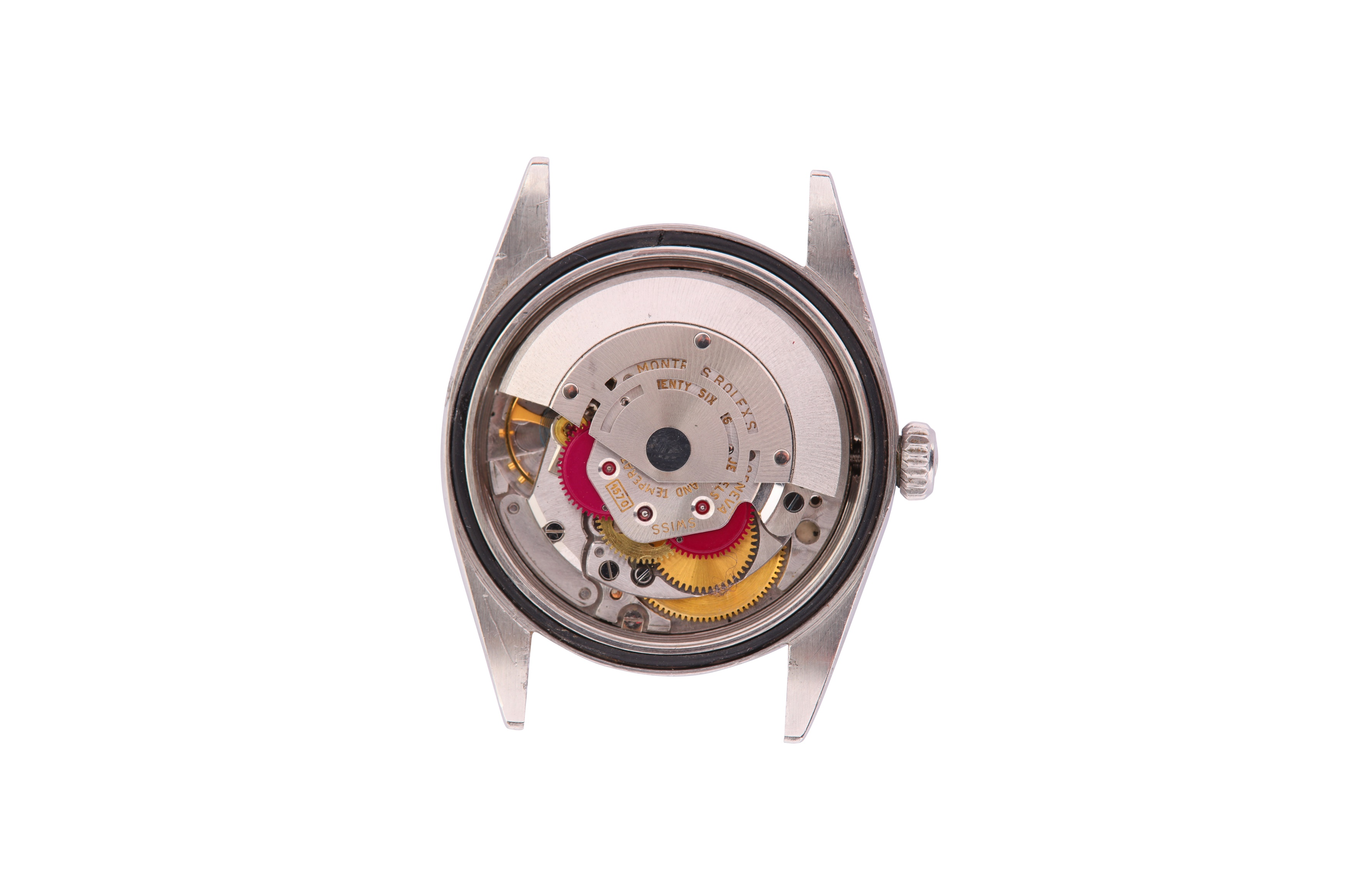 A RARE AND ATTRACTIVE MEN'S ROLEX STAINLESS STEEL AUTOMATIC WRISTWATCH - Image 5 of 9