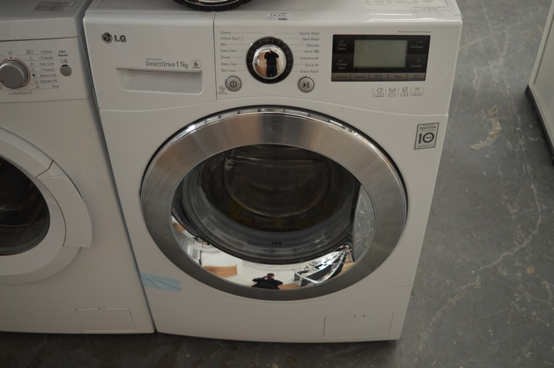 lot 312 lg f1495kd 11kg washing machine with inverter direct drive technology tub clean