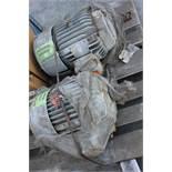 2 US ELECTRIC INDUSTRIAL MOTORS - 10/15HP