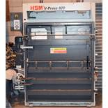 1 x HSM V-Press 820 Baler - Ex Supermarket Baler - CL999 - Location: Altrincham WA14More Information