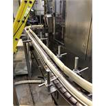 Approx 22ft Bottle Conveyor, Floor Mounted, (2) 90 Deg | Sub to Bulk | Rig Fee: $250
