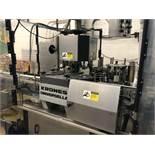 Krones Universella 6-Station Bottle Labeler, 110/120/130 Speed Sensor | Sub to Bulk | Rig Fee: $650