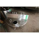"Aprox. 90 Gal. S/S Hinged Lid Balance Tank, Interior Dimensions Aprox. 45"" W x 13"" Deep (Located"