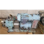 Waukesha Positive Displacement Pump Model: 130 Serial: 131203 3.5in IN 3.5in OUT Mounted on a