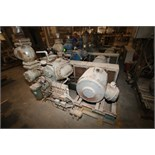 Vilter 100 hp 6 Cylinder Ammonia Reciprocating Compressor, Size A10K456B, S/N 60181, Order #F14997-