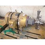 Fristam Centrifugal Pump 15HP 3in IN 2in OUT S/N: FPX742961802 (Located in NC) ***FBEV***