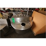 "Aprox. 115 Gal. S/S Hinged Lid Balance Tank, Interior Dimensions Aprox. 42"" W x 19"" Deep (Located in"