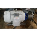 LKH Centrifugal Model: MR-200 Serial: 01-7-26348 3.5in IN 3.5in OUTMotor - 15HP 230/460 Volt 60 Hz 3