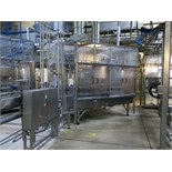 Filmatic HDPE & PET Bottle Filling Line, 32-Head Filler with 8-Head Screw Capper, Previously Runnin