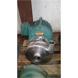 Centrifugal Pump 2.5in IN 2in OUTMotor - 7.5HP 230/460 Volt 60 Hz 3 Phase (Located in NC) ***