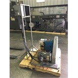 Waukesha Positive Displacement Pump Model: 220 Serial: 13220 SS 4.5in IN 4.5in OUTMounted to