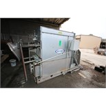 "Recold Cooling Tower, Model JC-38, S/N 05419, Overall Dimensions Aprox. 10 ft. L x 80"" H x 5 ft."