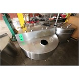 "Aprox. 130 Gal. S/S Hinged Lid Balance Tank, Interior Dimensions Aprox. 52"" W x 14"" Deep (Located in"