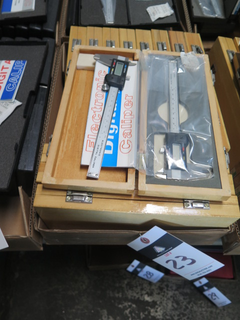 "Lot 23 - 6"" Digital Calipers (13)"
