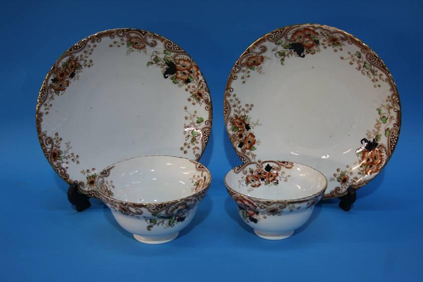 Lot 52 - A part Edwardian tea set