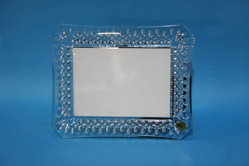 Lot 64 - A Waterford crystal photo frame