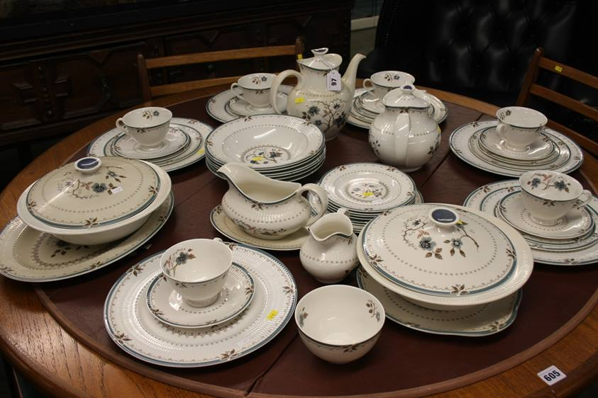 Lot 97 - A Royal Doulton 'Old Colony' tea and dinner service