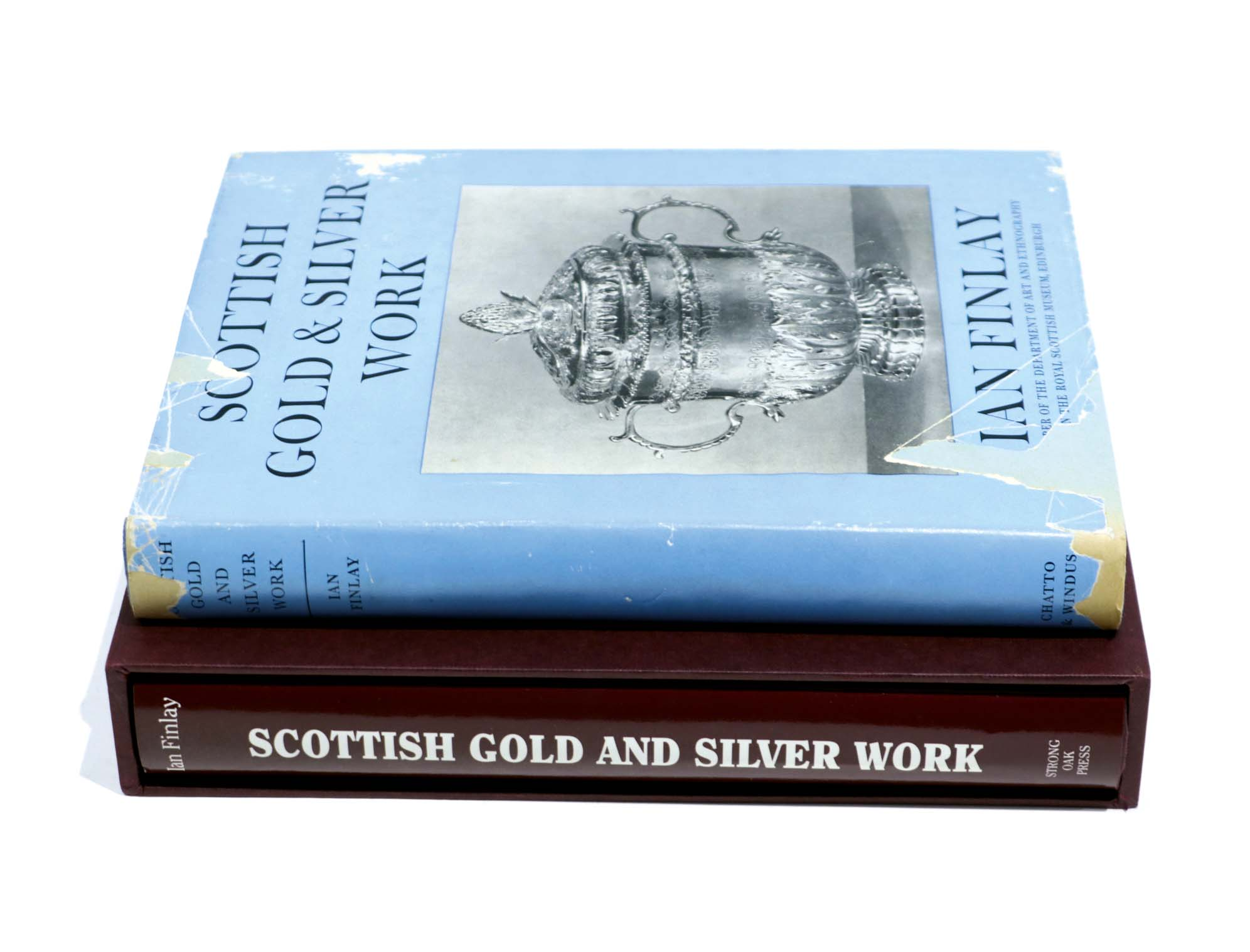 Lot 42 - General:- Finlay, I: Scottish Gold & Silver work 1956, and the Revised Edition by the same author,