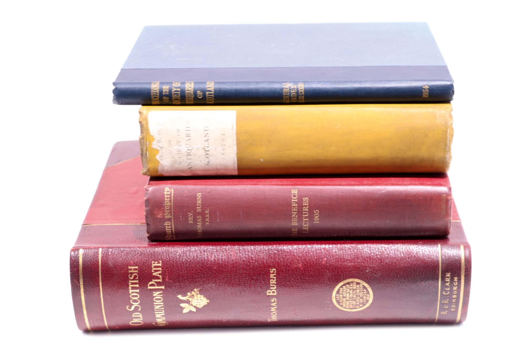 Lot 41 - Proceedings:- Bound Proceedings of the Society of Antiquairies of Scotland (1893-94, 1933-34, 1934-
